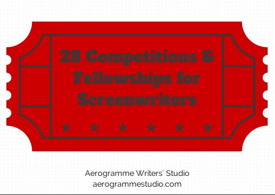 screenwriting fellowships